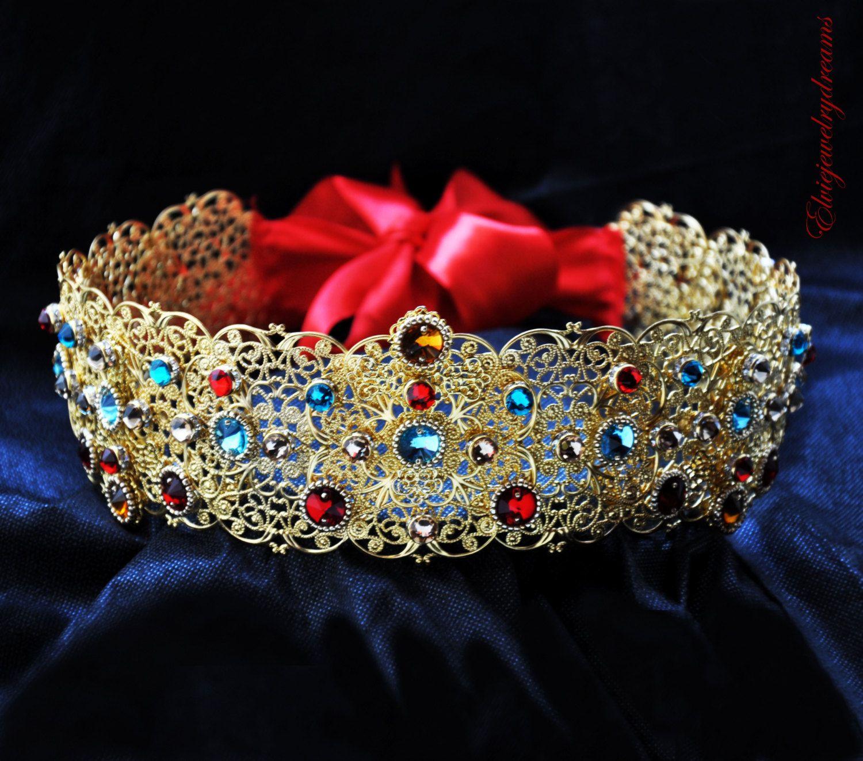 e86ef6b49cb0 Gold Filigree Baroque Dolce Belt