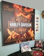 Estor personalizado con motivo fuego y llamas harley davidson decoraci n decoraci n - Estores personalizados con fotos ...