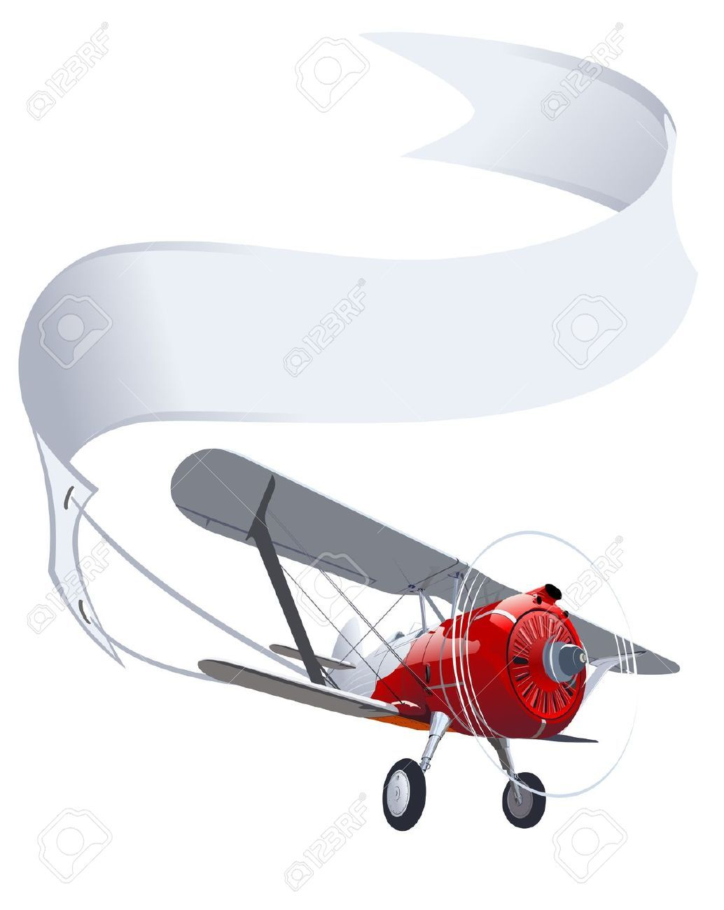 Discover Ideas About Aviation Theme Retro Airplane With Banner