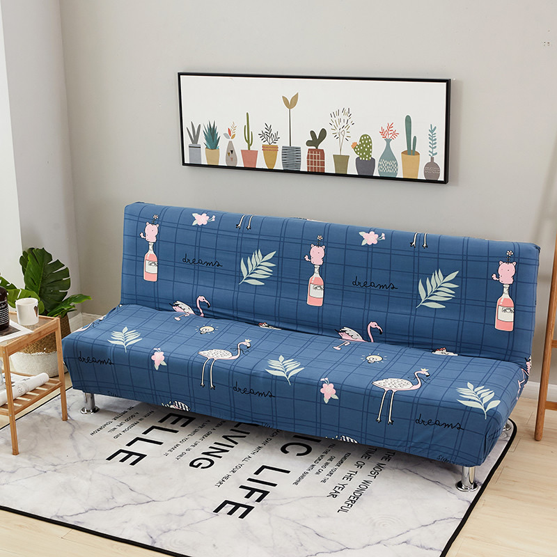 Universal Size Armless Sofa Bed Elastic Covers in 2020