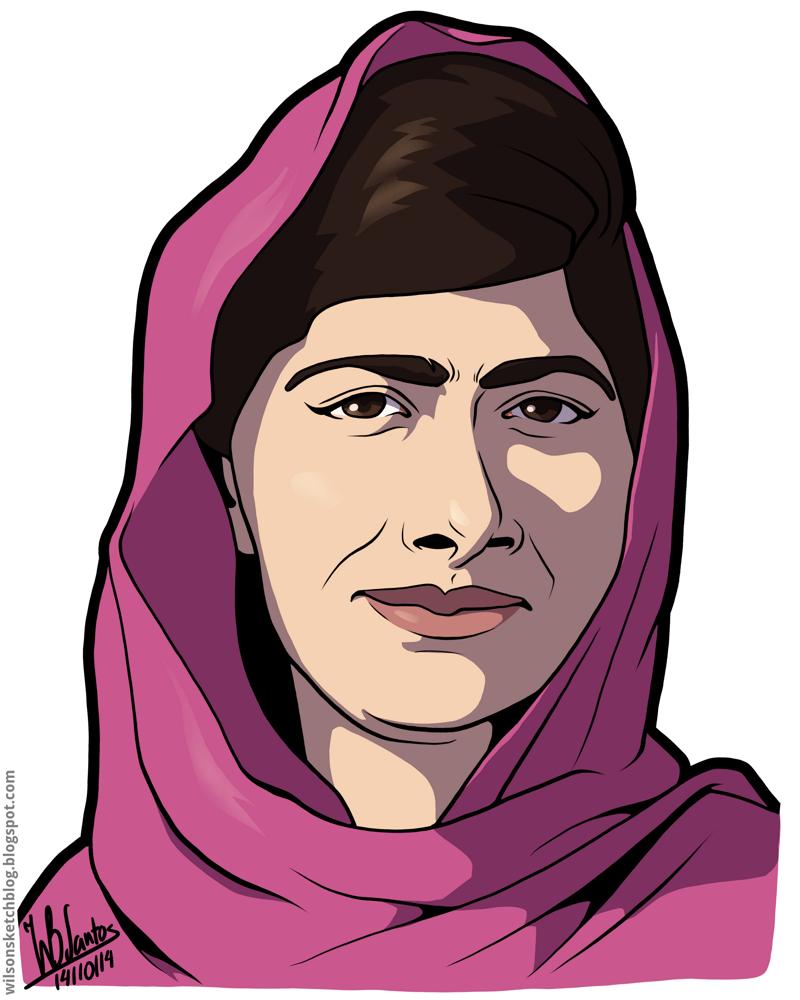 malala yousafzai cartoon - Google Search | School Projects | Pinterest