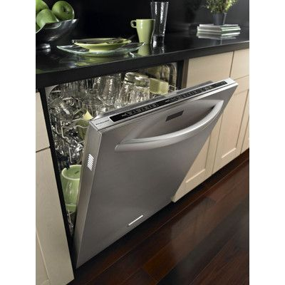 Kitchenaid Superba Series 4 Cycle Hard Water Softener Dishwasher