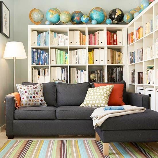 Image Result For Wall Mounted Toy Storage Over Sofa