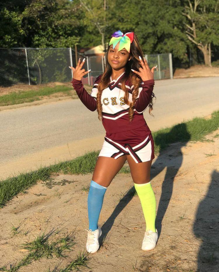 girl cheerleader Black