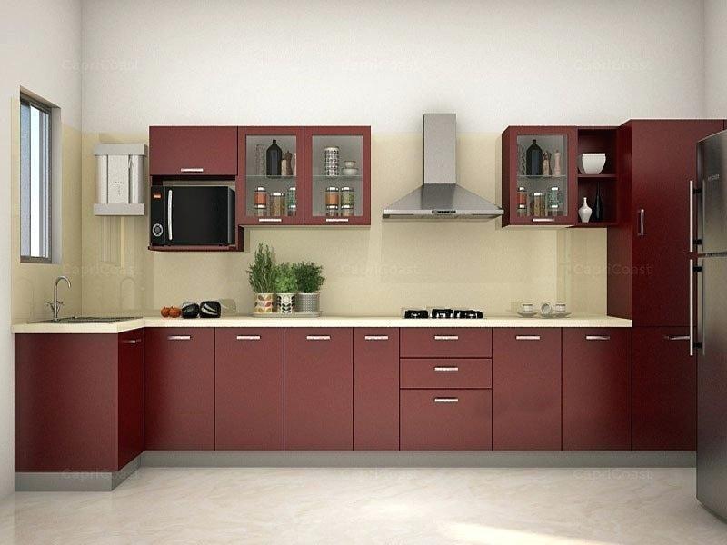 Modular Kitchen Designs India Modular Kitchen Design With U Shaped