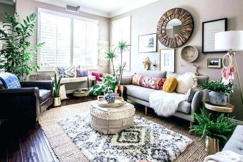 Boho Living Room Living Room Decor Effortless Style Transforms A Cookie Cutter Home In Orange Boho Living Room Decor Casual Living Room Design Boho Living Room