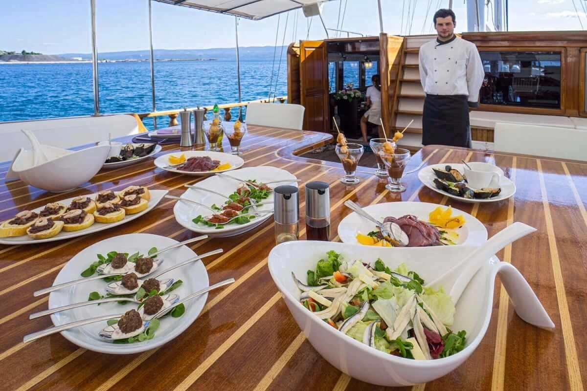 Image result for yacht chef