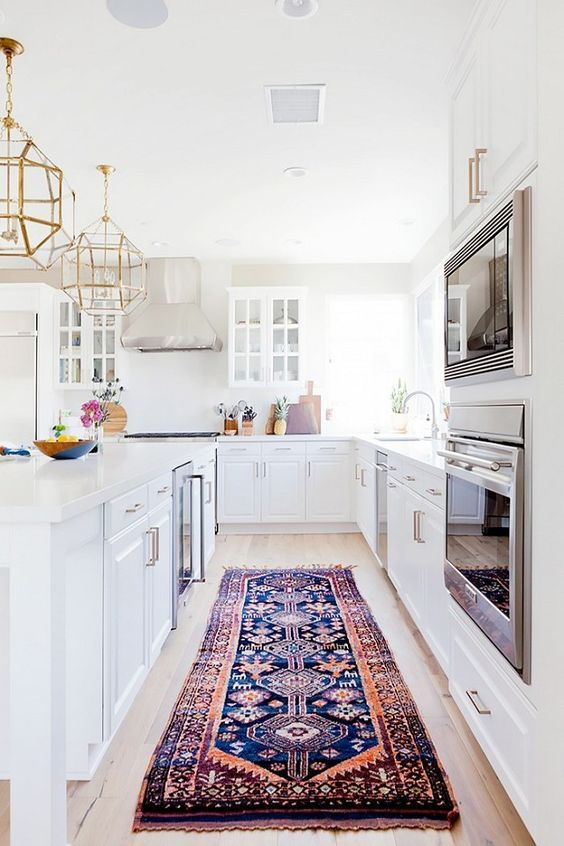 For Years Kitchen Floors Have Been Left Bare But Interior Unique Kitchen Lanterns Decorating Inspiration