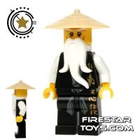 ninjago sensei wu lego ninjago mini figure sensei wu black