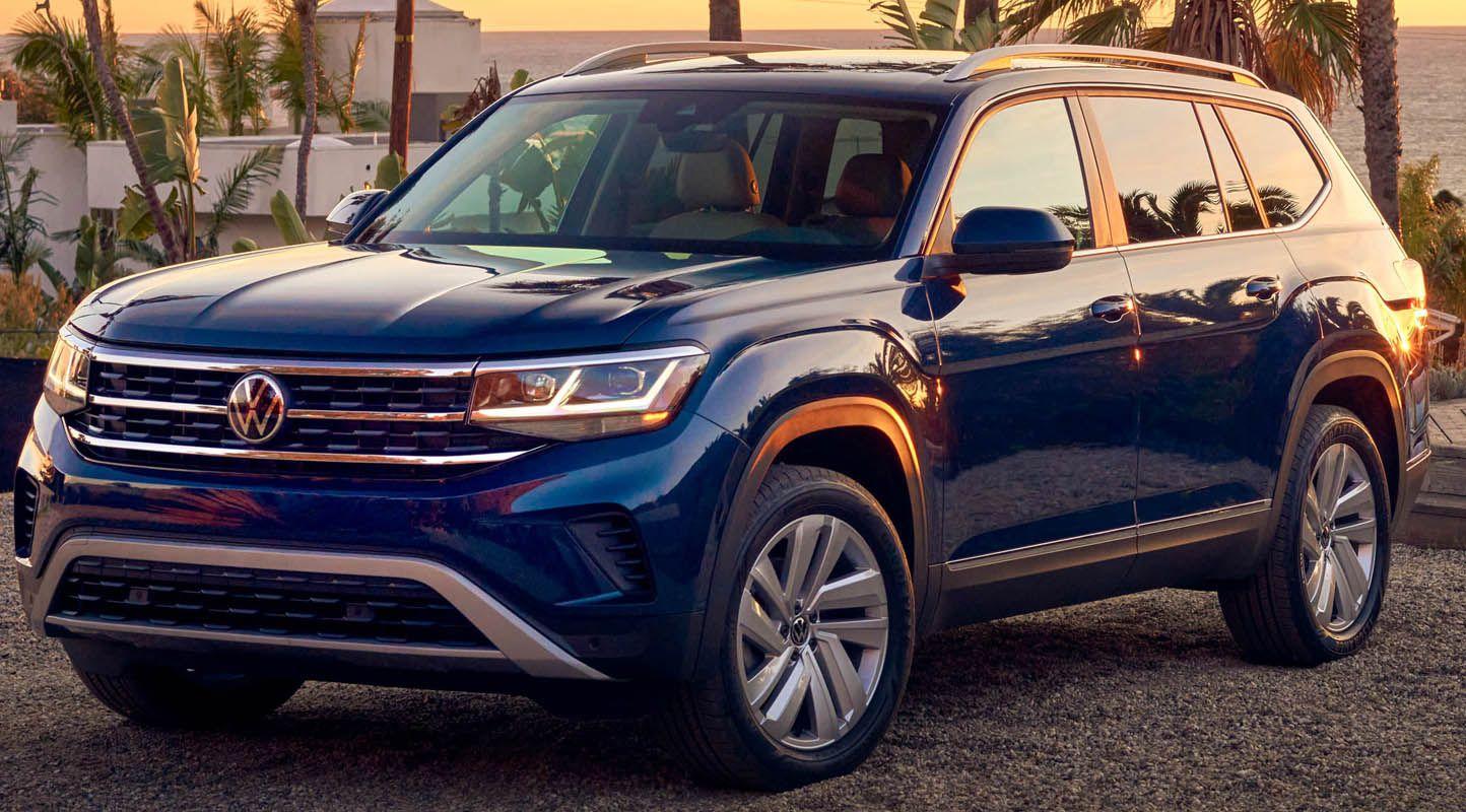 فولكس واغن تيرامونت 2021 الجديدة الكروس أوفر العائلية الكبيرة تتجدد بأناقة سلسة موقع ويلز In 2020 Volkswagen Atlas Car