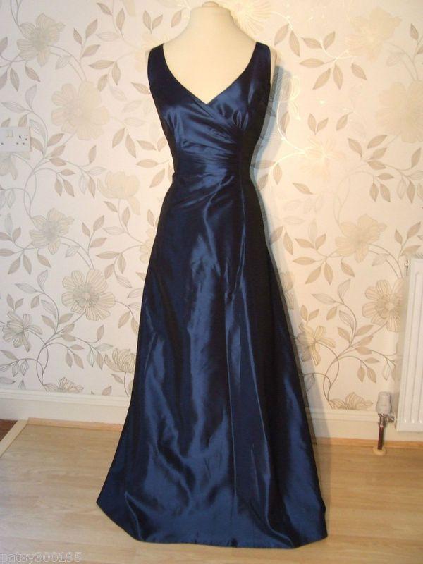 Blue taffeta gown   Bridesmaids-ery   Pinterest   Midnight blue ...