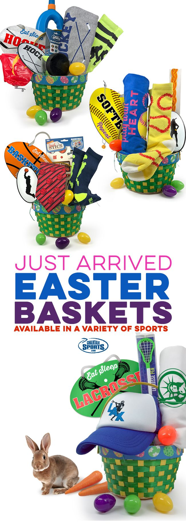 Easter baskets for your sport find ready to ship easter baskets easter baskets for your sport find ready to ship easter baskets pre filled with awesome goodies and gifts in your favorite sports easter basket prices are negle Images