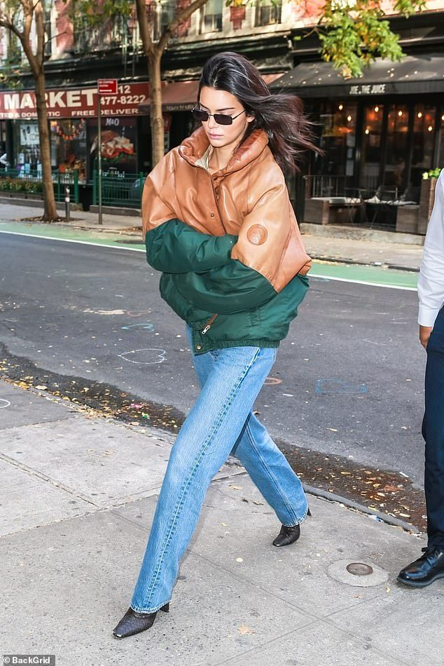 Kendall Jenner heads to the Victorias Secret Fashion Show