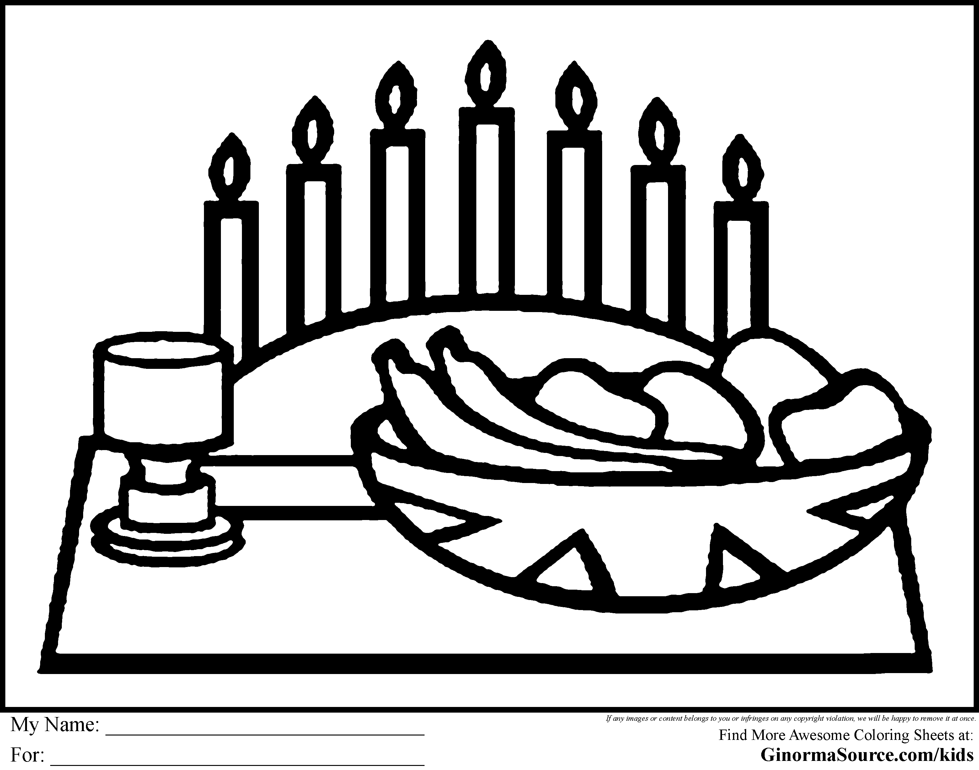 Quanza coloring pages ~ kwanzaa coloring pages for kids | Kwanzaa | Coloring pages ...