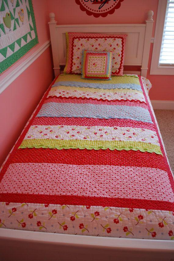 Eliza Jane Pdf Quilt Pattern Twin Size Strip Quilt Patterns Bed Quilt Patterns Pdf Quilt Pattern