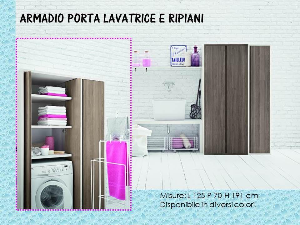 Mobili Piccoli ~ Mobile porta lavatrice asciugatrice e ripiani mobili lavanderia