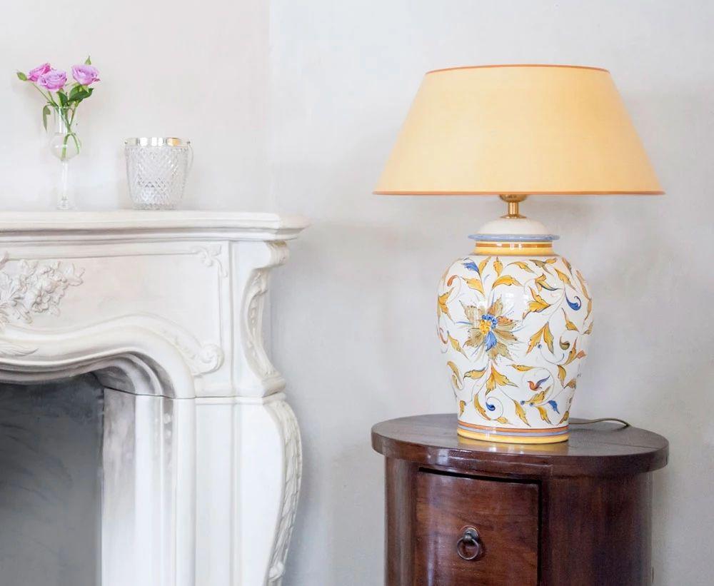 Spectacular Handgefertigte Lampen und Schirme nach Wunsch Kl ngelkram