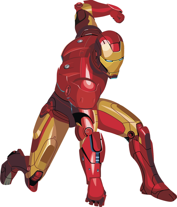 How to Draw Iron Man with Easy Step by Step Drawing