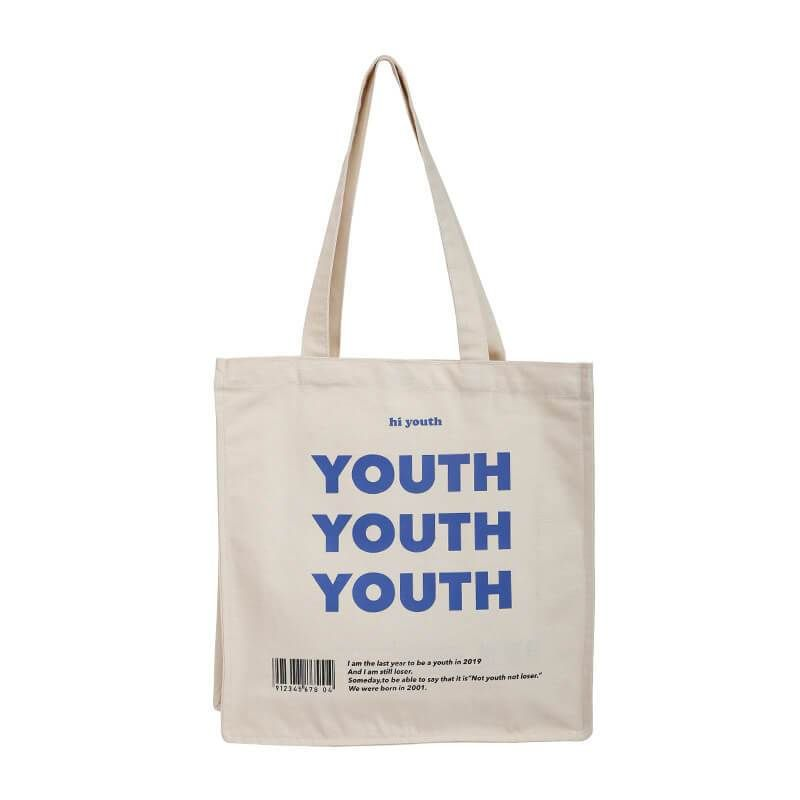 Download Youth Tote Bag In 2021 Branded Tote Bags Canvas Bag Design Canvas Shopping Bag