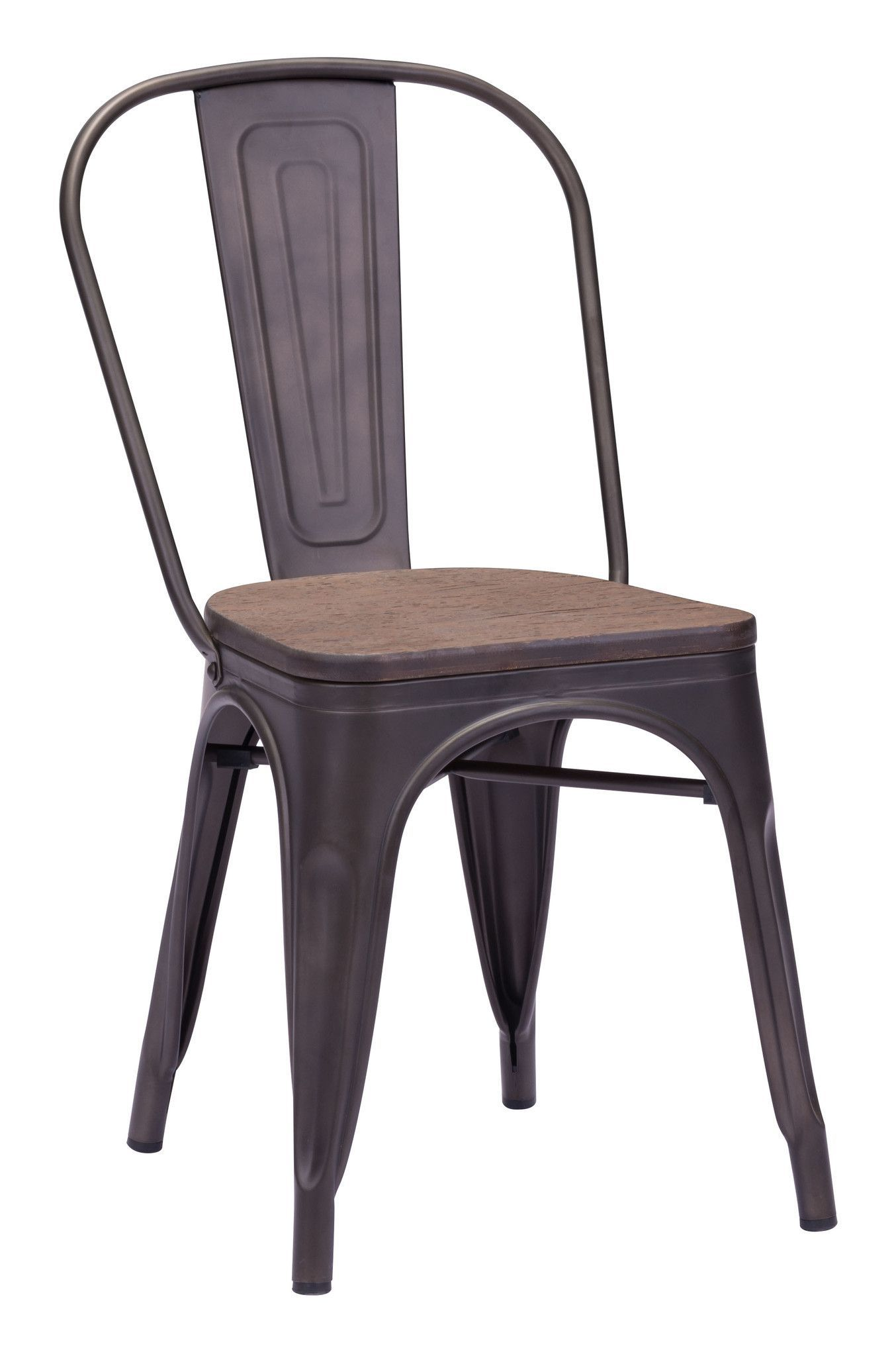 St. Charles Dining Chair | Rustic Wood