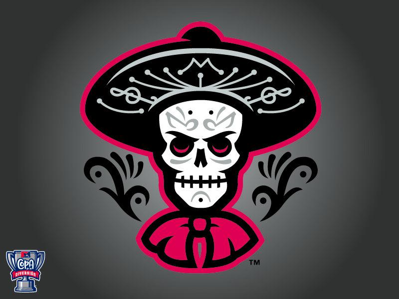 Las Mariachis de Nuevo México (MiLB) Art logo, Biloxi