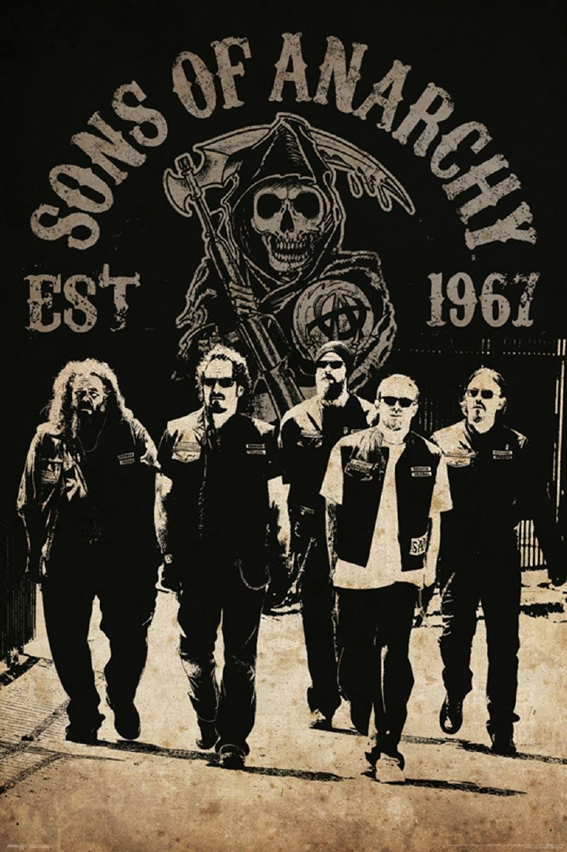 Sons Of Anarchy Reaper Crew Poster Things I Want! Sons