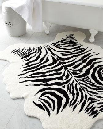 Decor/Accessories   Kenya Bath Rug   Neiman Marcus   Black And White Bath  Rug, Zebra Bath Rug, Zebra Print Bath Rug, Safari Bath Rug, Zebra .