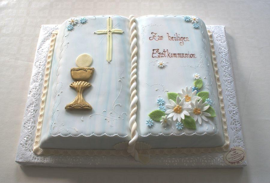 Pin Von Lydia Lengkong Auf Bible Cakes In 2020 Kommunion Torte Kommunionkuchen Erstkommunion