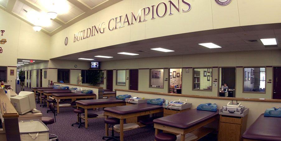 Tamu Olympic Sports Athletic Training Room Room Athletic