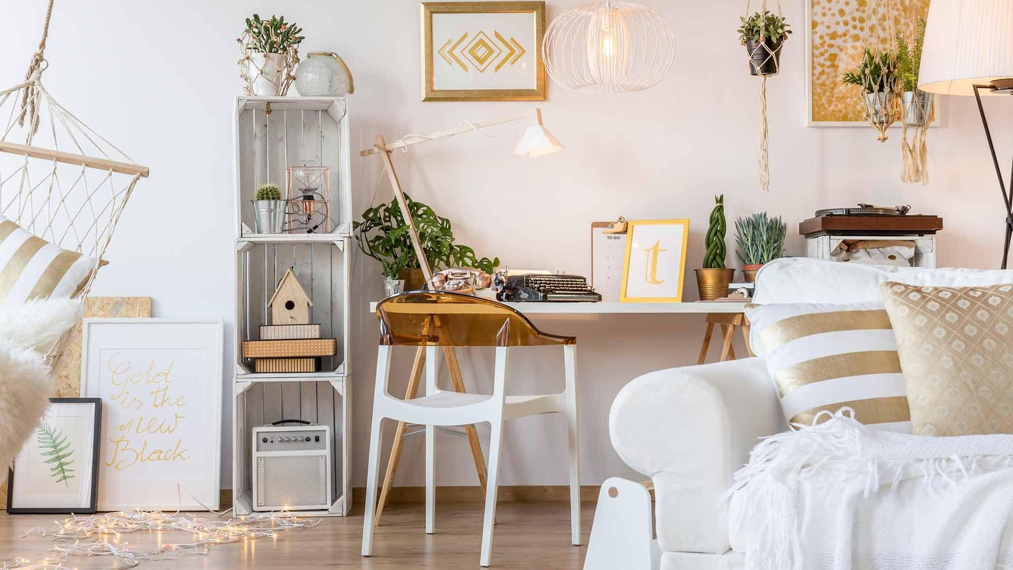 Hygge Glam La Tendance Danoise Va Encore Plus Loin Home Work Space Decor