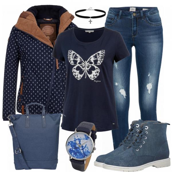 282b8a1a297f8a Butterfly Damen Outfit - Komplettes Winter-Outfit günstig kaufen |  FrauenOutfits.de