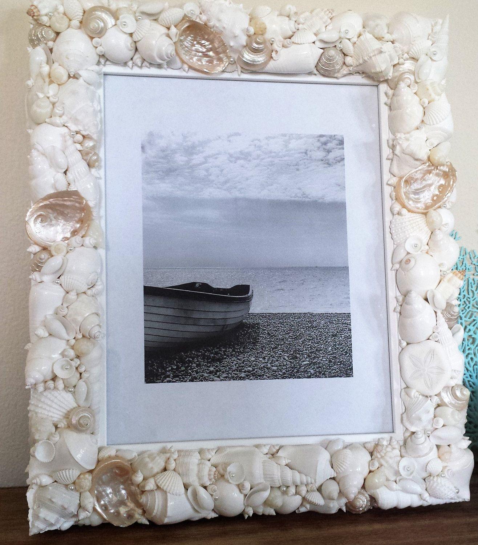Beach Decor, Shell Frame, 13\