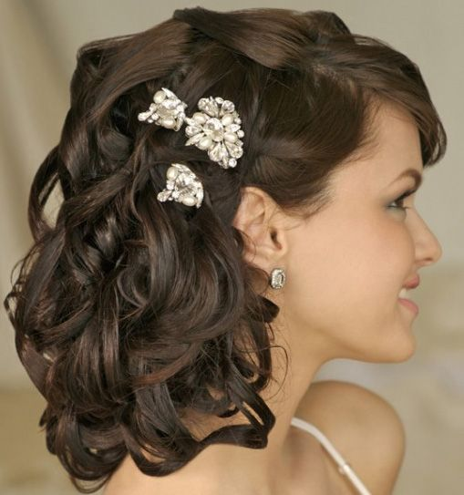 Bridal Hairstyles 2017 For Mid Length Hair