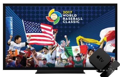 Stream World Baseball Classic to Apple TV World baseball