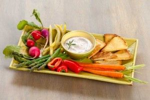 Fresh Goat Cheese,Olive & Rosemary Dip