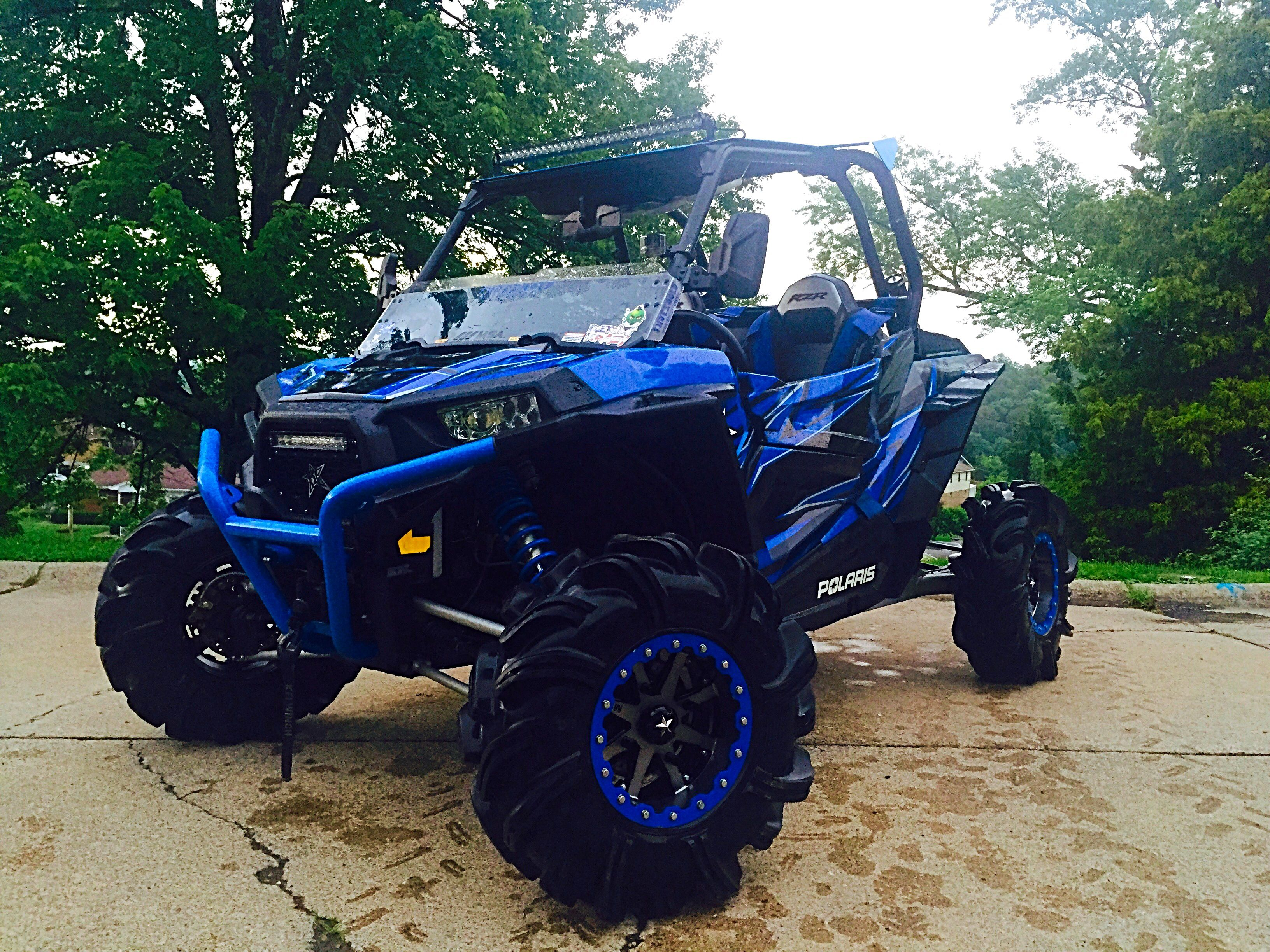 Wvguy90 Winner of August 2015 RZR of the Month Polaris RZR