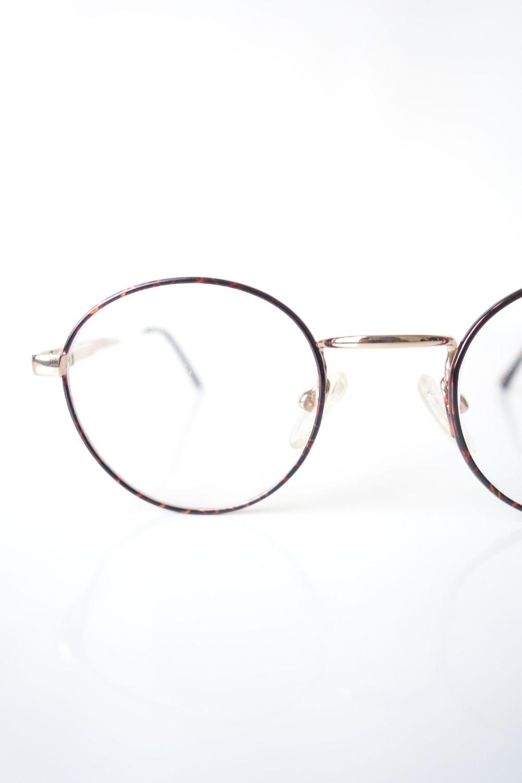 Amber Tortoiseshell Round Eyeglasses Retro P3 Round Wire Rim Etsy Round Eyeglasses Eyeglasses Vintage Eyeglasses