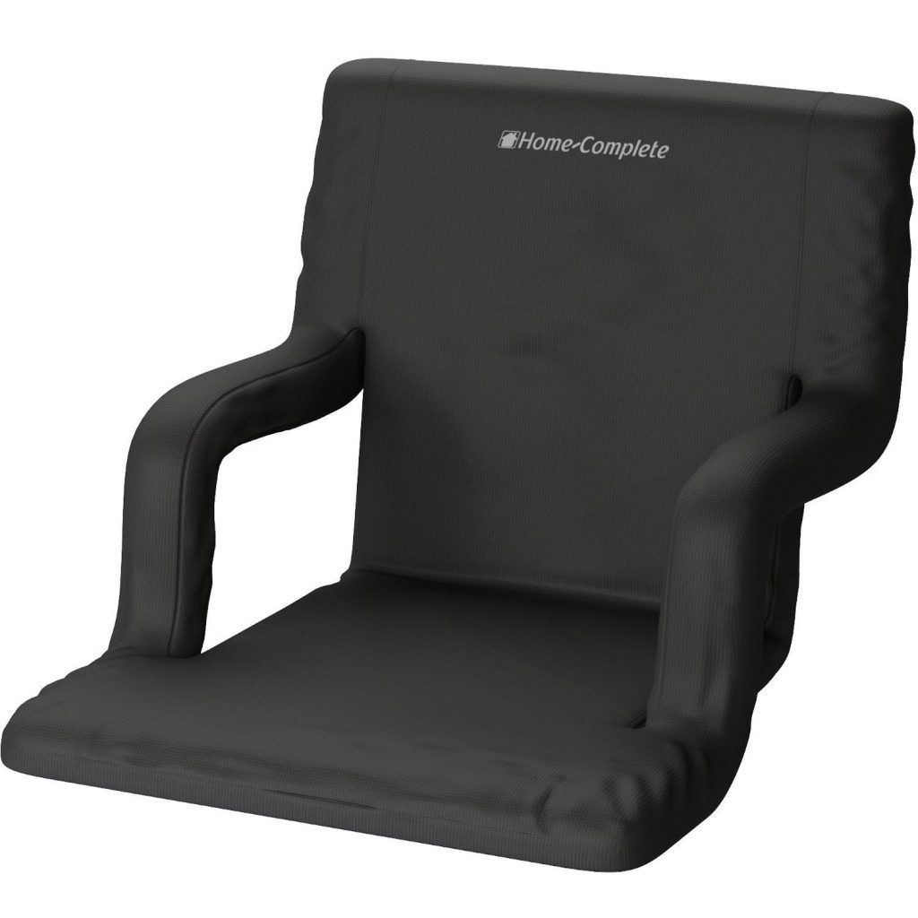 Genial Bleacher Seats With Back Stadium Cushion Chair Reclining Comfy Support  Portable
