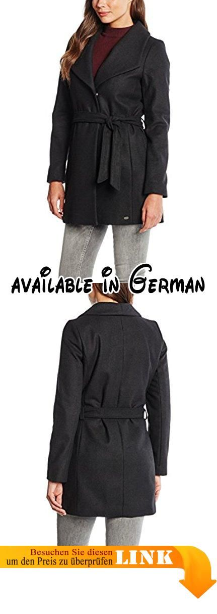 Denim Tailor Mantel CoatSchwarz Wool Tom Belted Damen FcuJ5KTl13