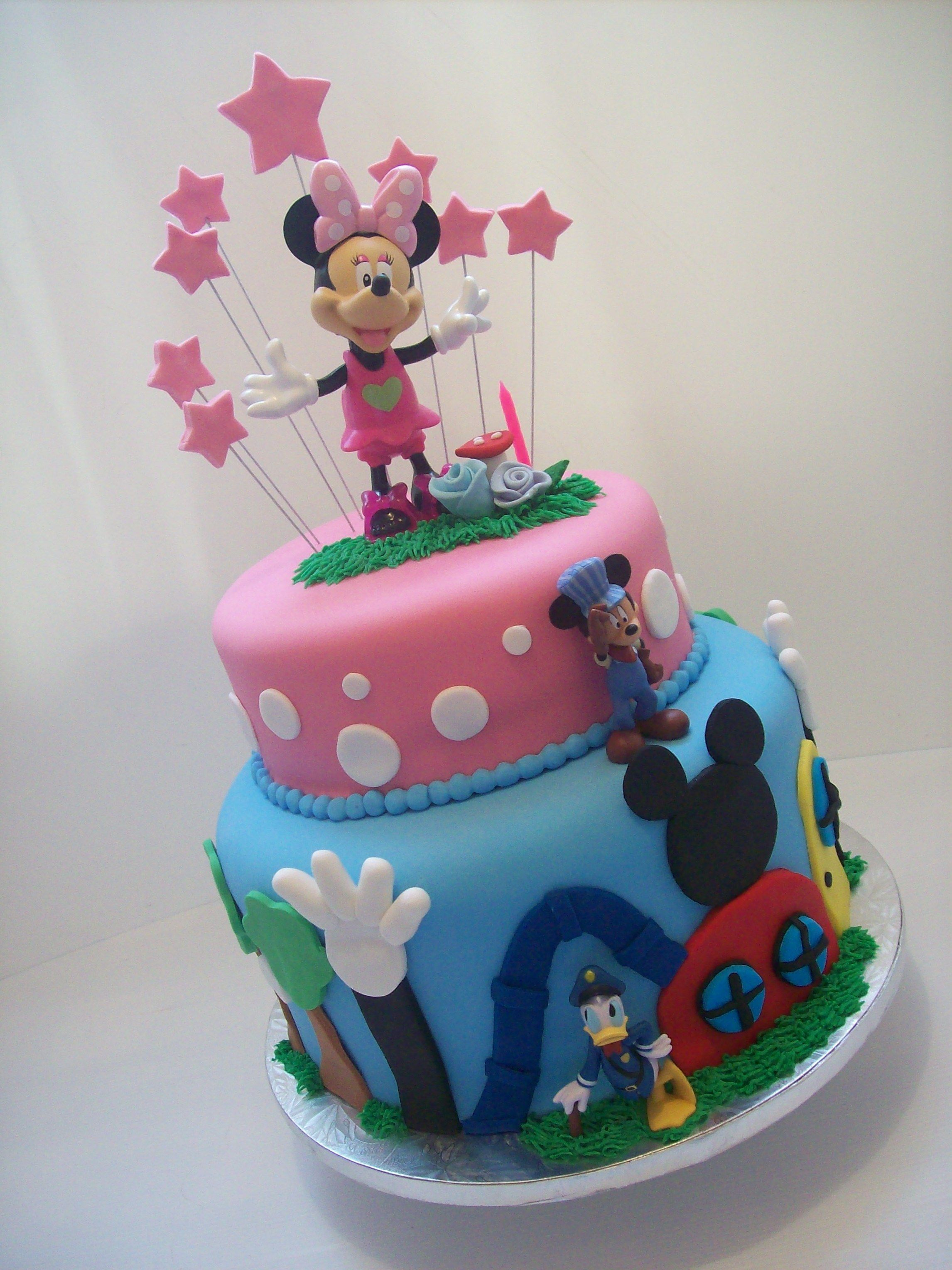 Minnie Mouse cake Auckland caters for 80 coffee serves 395