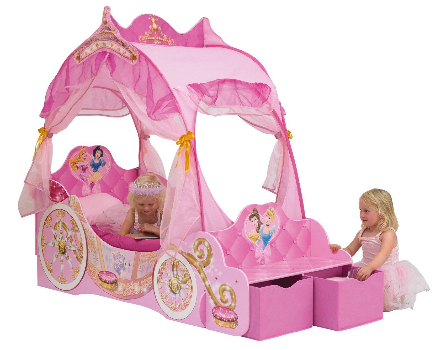 Kinderbett Disney Princess Kutsche, 70 X 140 Cm Traumhaftes Kinderbett    Ein Traum Für Alle