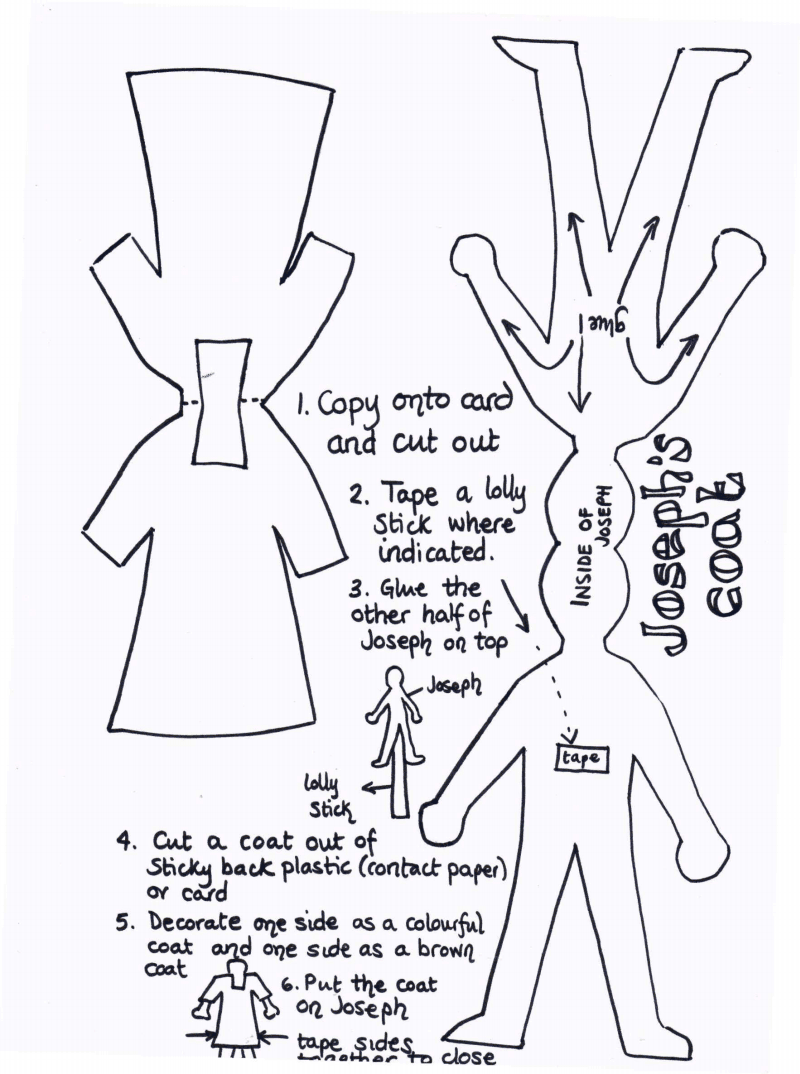 Meant for Joseph, but using coat template for story about