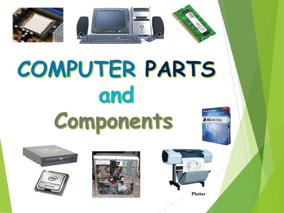 Computer parts and components computer parts and