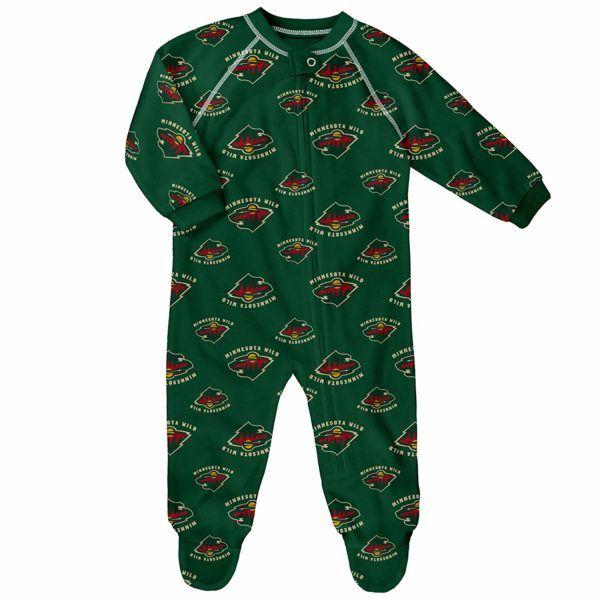 Oregon Ducks Toddler Full Zip Raglan Coverall Sleeper