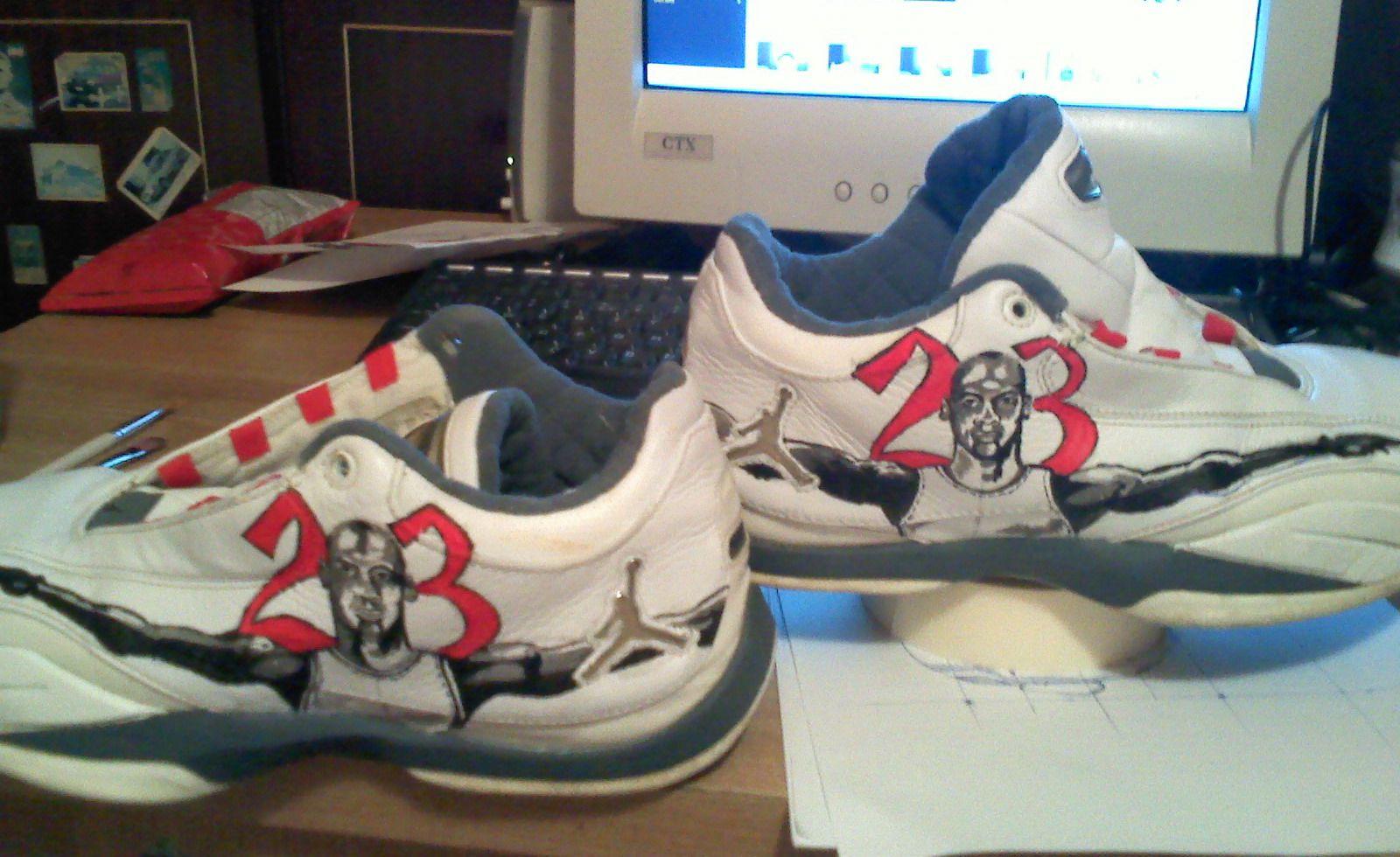 custom jordan shoes