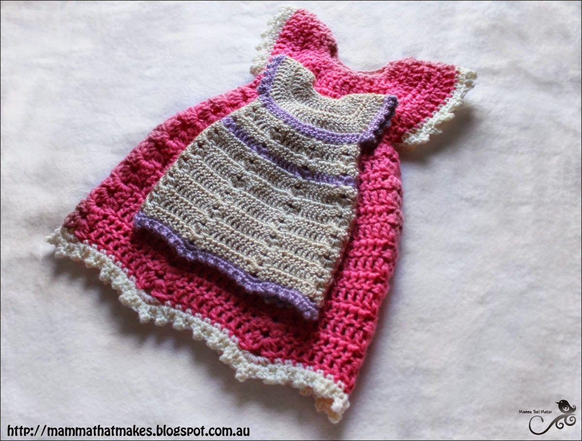 Mamma Eso hace: Sophia del vestido - libre del patrón de ganchillo ...