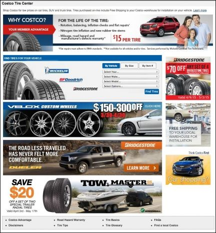 Costco Tire Sale Bridgestone Wheels Tires Gallery Pinterest
