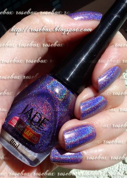 esmalte Jade fascinio violeta