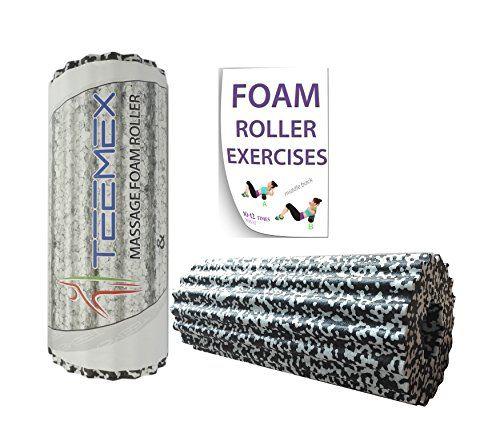 Foam Roller For Muscle Massage Myofascial Release Trigger ...