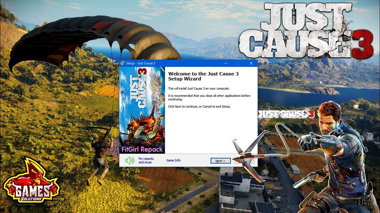 Just Cause 3 XL Edition Installation For Pc (Download And